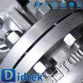 Didtek ANSI 3'' 150LB flange connection rising stem stainless steel globe valve