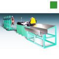 Copper aluminum coiled tube decoiling straightening and cutting machine