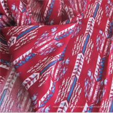 Viskose Rayon Schuss Krepp Material für Damenkleider