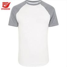 Logo T-shirt 100% de coton de bonne qualité adapté aux besoins du client pour la publicité