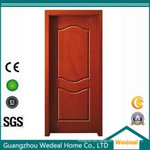 Puerta interior laminada de PVC con estilo y estructura múltiple