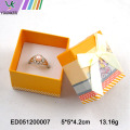 Karton Design Papier Ring Box Schmuckschatulle Bow