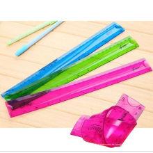 Regleta flexible del PVC de la venta 30cm flexible Rega flexible del plástico