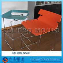 moule en plastique de tabouret d'injection, moule de tabouret de bar, moule de chaise
