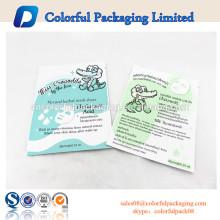 Plastische kosmetische Wiederverschließbare kundenspezifische Plastiktonertaschen der Plastikfolie