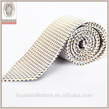 Wholesale wool lining silk jacquard woven tie