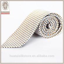 Atacado de lã revestimiento jacquard de seda tecida laço