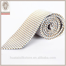 Оптовые шерстяные подкладки из шелка жаккарда тканые галстук