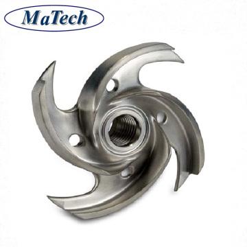 Custom Lost Wax Carbon Steel Turbine Blade Investment Casting