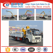 Fuctional más nuevo diseñado DFAC 4Tons pequeña grúa del camión para la venta