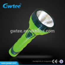 Made in china brilho alta capacidade recarregável levou luz lanterna