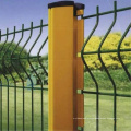 Peach Post Security Wire Mesh Fence