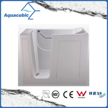 Acrylic Walk-in Wheelchair Safe Bathtub for Disabled (AB3055DW)