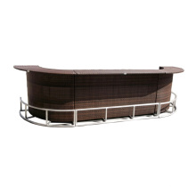 Luxury Bar Counter Rattan Bar Table