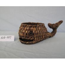 Water Hyacinth Shark Shape Pot