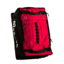 Sports backpack, two rubber handles, one shoulder strap can change to duffel bag