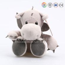 Dragão bonito dos brinquedos do material do luxuoso da forma feito na porcelana