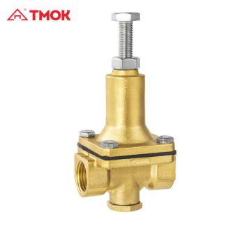 Redução de pressão Válvula de alívio de válvula piloto latão
