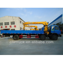 8 Tonnen Dongfeng Lkw-Kräne zum Verkauf, 3 alxes LKW mit Kran