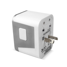 4USB AU / US / UK / EU World Travel Charger