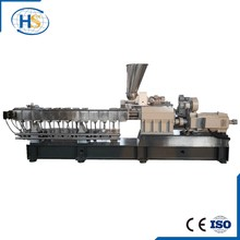 Tse-65b PE PP Twin Screw Plastic Granule Granulator Machine
