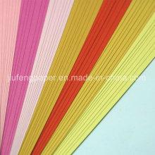 Melhor qualidade 100% polpa de madeira 160g papel de impressão offset de papel colorido