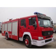 HOWO 4 * 2 caminhão de bombeiros