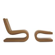 Modern Wooden Leisure Single Sofa Chair (D-65A+B)