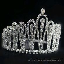 Nouveauté en plastique, feux, clignotant, métal, princesse, tiaras et couronnes