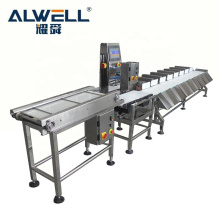 Automatic 3 levels fish meat weight sorting weight sorter machine