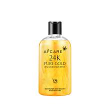 Refreshing Organic Herbal 24K Gold Lighting Body Wash Whitening Lighting Rain Body Wash