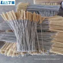 Factory direct supply scrub steel wire cleaning brush