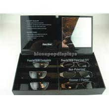 Eyewear Store Counter Top Brillen Display Showcase 6-Pair Optische Gläser Acryl Perspex Display Box