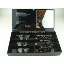 Gafas Tienda Gafas de mostrador Display Showcase Gafas Ópticas de 6 pares Acrílico Perspex Display Box