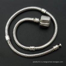 Европейская цепочка из трех браслетов с застежкой