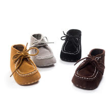 High Baby Shoes 4 Color Infant Toddler Anti-Slip Moccasins Prewalker