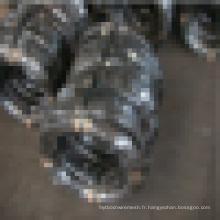 8 # -22 # Fil fin recouvert noir et doux et fil de liaison pour construction