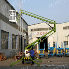 Truck mounted articulated boom lift platform for cherry picker Truck mounted articulated boom lift platform for cherry picker
