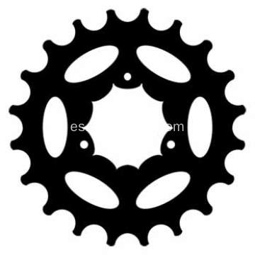 36T / 48T Mountain Bicycle Chainwheel and Crank