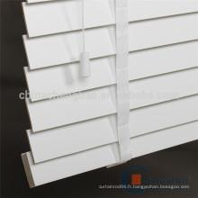Hotsale ladder tape design white faux vitres en bois