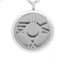 Medalhão de aço inoxidável 316l, perfume medalhão pingente de jóias