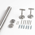 Indoor Stair Railing 304 Stainless Steel Removable Bracket Wall Mount Handrail