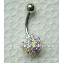 Fashion navel body piercing jewelry Fancy belly button