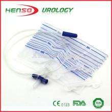 Urin-Drainage-Tasche mit Kunststoff-Aufhänger