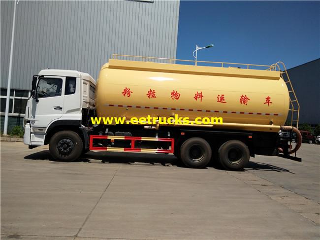 Plastic Pellet Tanker Trucks