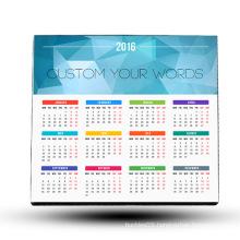 2016 calendar souvenir magnet fridge