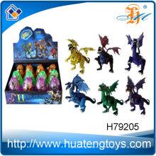 2014 Nuevo regalo de la promoción de la llegada para los cabritos que disuelven el huevo al dinosaurio juega para la venta