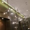 Hotel project modern led glass chandelier pendant lights