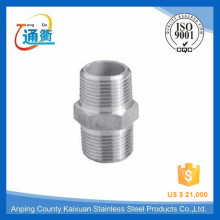 hebei manufacture casting female / male threaded stainless steel nipple clamp