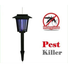 Asesino de insectos solar al aire libre de la lámpara del asesino del mosquito de la luz del jardín